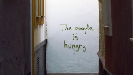 The people is hungry